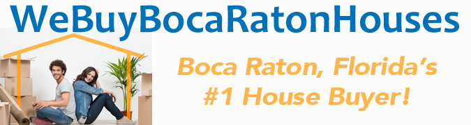 We Buy Boca Raton Florida Houses Logo